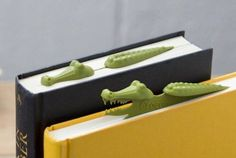Keep your book safe from prying eyes with this (adorably) threatening bookmark.