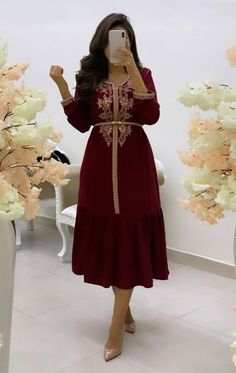 Arab Fashion, Fashion Women, Moroccan Caftan, Caftan Dress, Gold Lace, Traditional Dresses, Fashion Dresses, Modesty Fashion, Evening Dresses