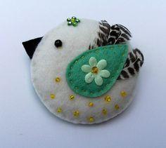 Berenice - the tiny little retro bird