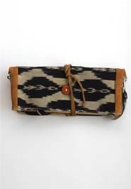 Many Ways Bag by Noonday Collection Ikat & leather; woven in Guatemala {with love}