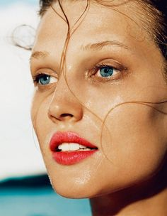 Toni Garrn Hits the Beach for Madame Figaro April 2013 Cover Story by Nico   Fashion Gone Rogue: The Latest in Editorials and Campaigns