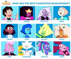 We pick. Steven Universe Characters, Steven Universe Memes, Sapphire Steven Universe, Cartoon Network Characters, Lapis And Peridot, Alien Concept, Rocket Raccoon, Cartoon Crossovers, Cartoon Shows