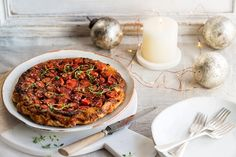 This beautiful tomato tarte Tatin recipe is packed with flavour from sweet cherry tomatoes and good-quality aged balsamic vinegar.
