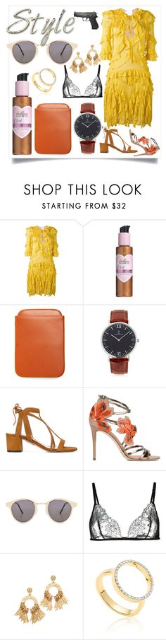 """""""SUMMER STYLE"""" by justinallison ❤ liked on Polyvore featuring Dsquared2, Million Dollar Tan, Brooks Brothers, Kapten & Son, Aquazzura, Jimmy Choo, Spitfire, Carine Gilson, Elizabeth Cole and Monica Vinader"""