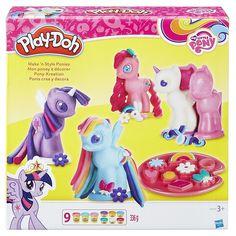 Hasbro Play-Doh B0009EU6 - My Little Pony Pony-Kreation, Knete: Amazon.de: Spielzeug