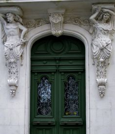A door in Castelnaudary, France. Photo by Amber Maitrejean