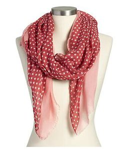 We're loving this patriotic scarf