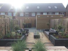 #Lounge #tuin #tuin #chill #achtertuin #klein Outdoor Balcony, Balcony Garden, Outdoor Decor, Summer Garden, Home And Garden, Backyard, Patio, Interior Garden, Small Gardens