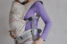 Šije to se mnou: Návod na ergonomické nosítko s novorozeneckou vložkou