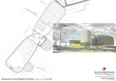 Design and images prepared by creative team at Russen & Turner Architectural Design supported scheme which recieved Planning Permission. Planning Permission, Architecture Design, Cinema, How To Plan, Creative, Architecture Layout, Movies, Movie Theater, Architecture