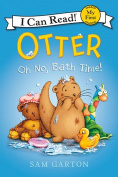 It's bath time for Otter—the curious, charming, playful, and internet-famous picture book character, now starring in her very own I Can Read!