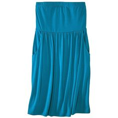 Mossimo® Womens Casual Strapless Dress - Assorted Colors ($23) ❤ liked on Polyvore