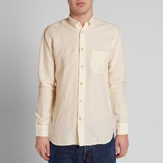 Our Legacy Everyman Generation Shirt (White Linen)