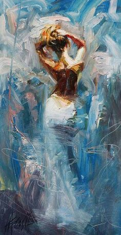 Henry Asencio. I don't know the title to this, but to me it's about freedom and contentment.
