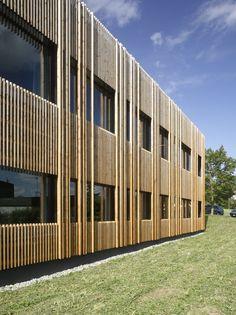 Gallery of Classroom Extension and Sports Hall / Zwimpfer Partner Architekten + Berrel Berrel Kräutler Architekten - 9