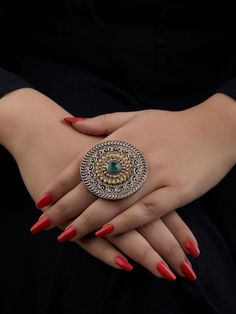 The Loom- An online Shop for Exclusive Handcrafted products comprising of Apparel, Sarees, Jewelry, Footwears & Home decor. Indian Jewelry Earrings, Indian Jewelry Sets, Gold Rings Jewelry, Silver Jewellery Indian, Indian Wedding Jewelry, Jewelry Design Earrings, Hand Jewelry, Wedding Jewelry Sets, Indian Accessories