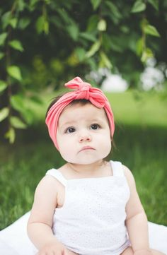 Baby girl fashion and hair accessories that are both comfortable and stylish. Headbands and more.