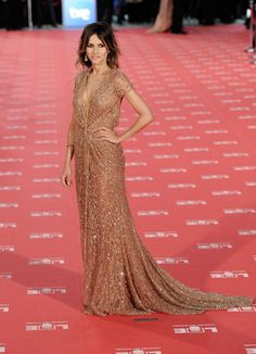 Goya Toledo wore a ELIE SAAB Haute Couture Fall 2011-12 gown to the Goya Cinema Awards Ceremony.