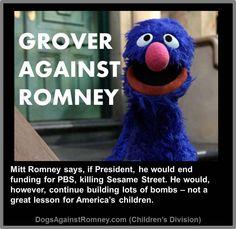Grover against Romney