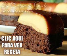 Torta de Piña Volteada Chocoflan Recipe, Pineapple Upside Down Cake, Cheesecakes, Fruit, Mexican Food Recipes, Banana Bread, Sweet Tooth, Cookies, Desserts