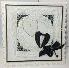 www.dreamees.org.uk - Wedding hearts - Lasercut embellishments