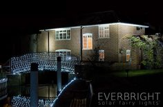 Everbright Solar Fairy Lights - White 300 LEDs. Also available in warm white, blue, and multicoloured. £69.98.