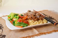 Honey Soy Beef - Powered by @ultimaterecipe