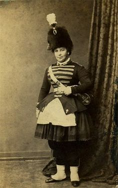 Madame Bourselet (Grenadiers of the French Imperial Guard).