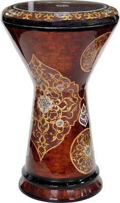 Arab Instruments New  Generation Egyptian Pearl Darbuka/ Doumbek #10032 #GawharetElFan