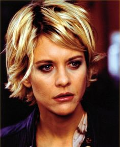 Meg Ryan has always been a fashion hair icon! Love that short, messy bed head.