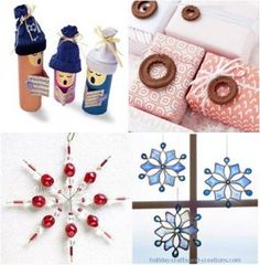 Crafts and ideas for Christmas - (mostly kid crafts)