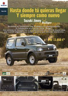 Nuevo Suzuki Jimny Ranger
