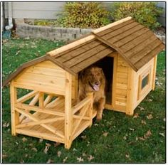 When your dog has had a 'ruff' day, he'll be glad to come home to his own Country Hideaway.