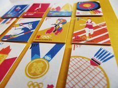 charlottestelle Graphic Design | London Olympic Stamps
