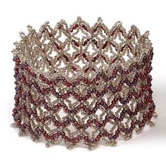 Downloadable tutorial for subscribers  Nothing but net - Bead Magazine