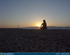 "Yoga Poses Around the World:  ""Peace"""
