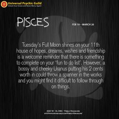 #WeeklyHoroscopes #PISCES: Hopefully you have a friend who is good at pushing you over the finish line. The Sun, Mercury and Venus link up in Leo this weekend - the shining star of the zodiac and your 6th house of hard work, health and wellbeing. It's time to get into tip top shape, Pisces. Dig out that gym membership and your sneakers and off you go!
