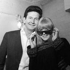 Marianne Faithfull with Roy Orbison