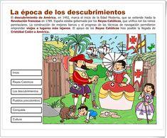 """""""La Época de los Descubrimientos"""" (Presentación interactiva de Historia de Primaria)"""
