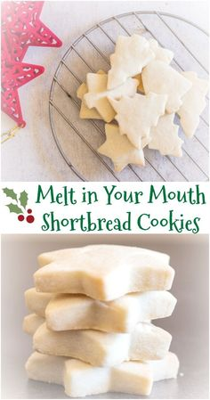 The Best Simple Two Way Shortbread Cookies, the ultimate melt in your mouth Traditional or brown sugar. Your new Shortbread recipe. Cake Mix Cookie Recipes, Best Cookie Recipes, Sugar Cookies Recipe, Holiday Recipes, Dessert Recipes, Dinner Recipes, Christmas Recipes, Simple Cookie Recipe, Brown Sugar Cookies