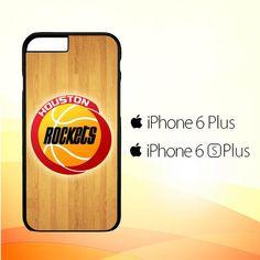 houston rockets logo Z4162 iPhone 6 Plus|6S Plus Case