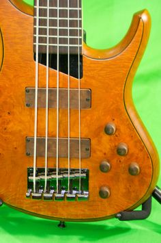 MTD Kingston - added wood knobs to match the pickups. Nice bass, but also sold to get the Bongo.