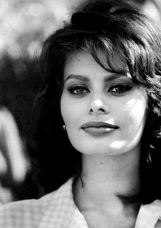 Sofia Loren. Timeless?  Admired by FalconFabrics.com.au