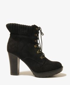 $34.80 Faux Suede Hiking Booties | FOREVER21 - 2031570301