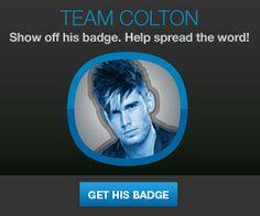 TEAM COLTON!!!