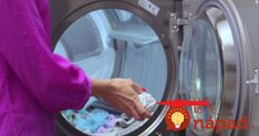 Laundry is one of those chores most of us loathe. However, with the sneaky shortcuts and clever hacks in the video below, laundry day is . Laundry Dryer, Doing Laundry, Laundry Hacks, Laundry Room, O Gas, Steel Wool, Household Chores, Fun Activities For Kids, Cool Diy Projects