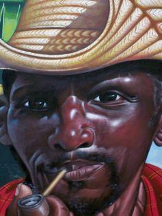 Original Haitian painting