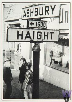 This was the epicenter of the counter culture in the summer of 1967. Over 100,000 young adults descended upon this neighborhood of San Francisco.