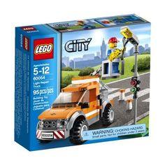 LEGO City Great Vehicles 60054 Light Repair Truck Lego Truck Lego City Sets Gift #LEGO