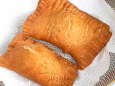 Nigerian Fish Roll is the deep-fried version of Nigerian Meat Pie with a fish filling.